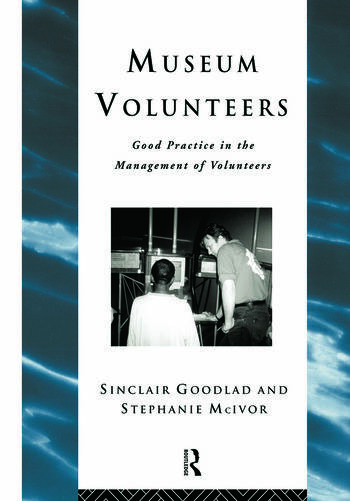Museum Volunteers Good Practice in the Management of Volunteers book cover