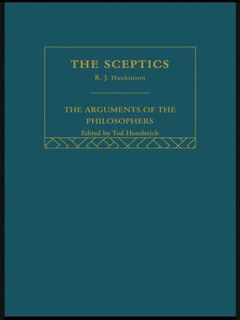 Sceptics-Arg Philosophers book cover