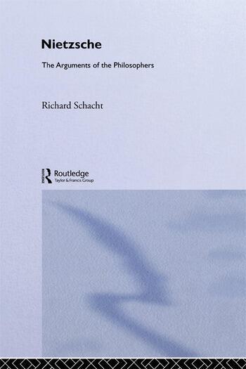 Nietzsche-Arg Philosophers book cover