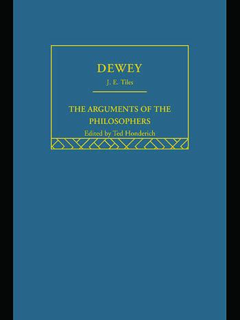 Dewey-Arg Philosophers book cover