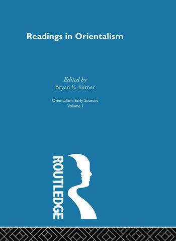 Readings Orient:Orientalsm V 1 book cover