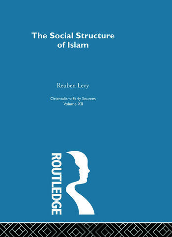 Soc Struct Islam:Oriental V12 book cover