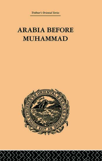 Arabia Before Muhammad book cover