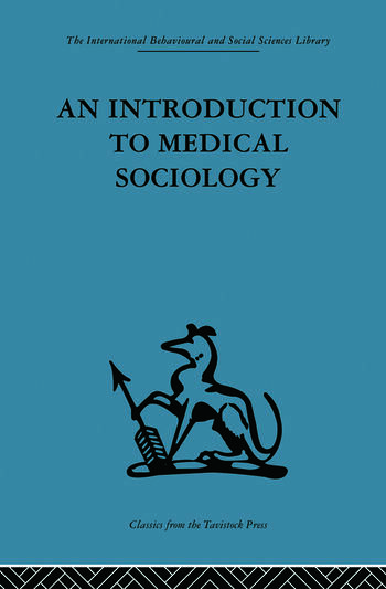 An Introduction to Medical Sociology book cover