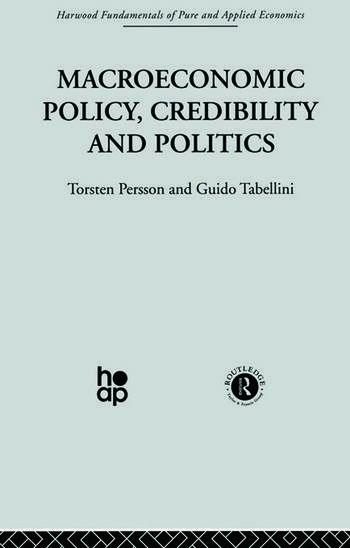 Macroeconomic Policy, Credibility and Politics book cover