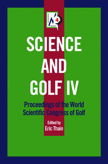 Science and Golf IV book cover