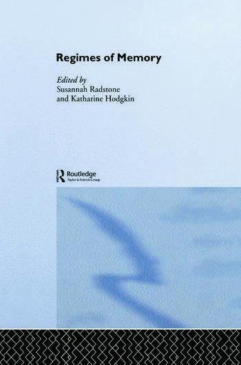Regimes of Memory book cover