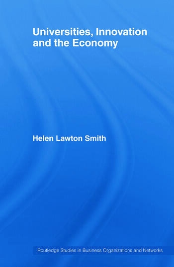 Universities, Innovation and the Economy book cover