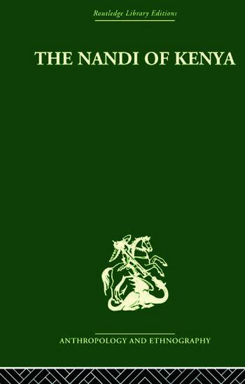 The Nandi of Kenya book cover