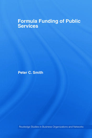 Formula Funding of Public Services book cover