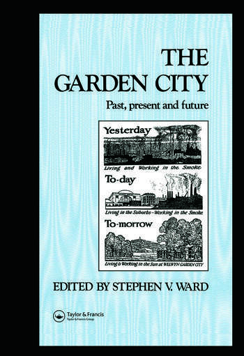 The Garden City Past, present and future book cover