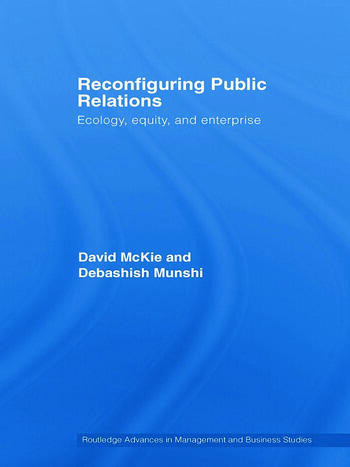 Reconfiguring Public Relations Ecology, Equity and Enterprise book cover