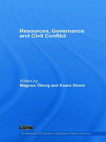 Resources, Governance and Civil Conflict book cover