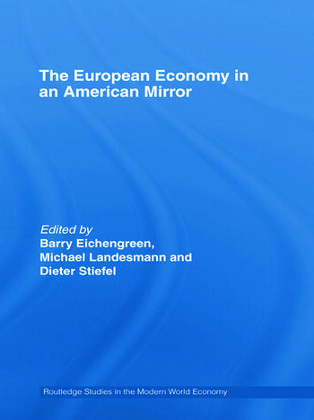 The European Economy in an American Mirror book cover