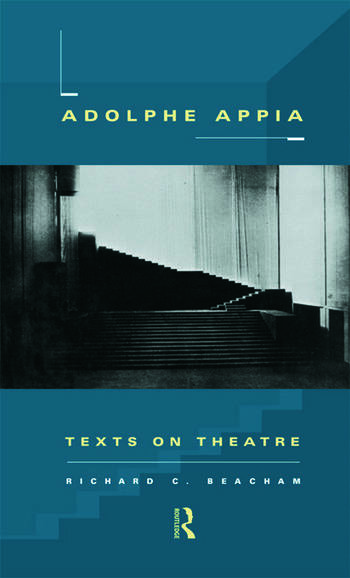 Adolphe Appia Texts on Theatre book cover