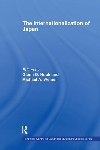 The Internationalization of Japan book cover