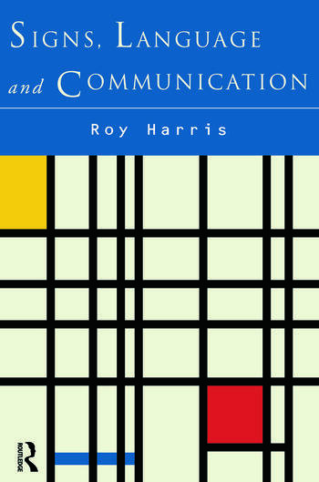 Signs, Language and Communication book cover