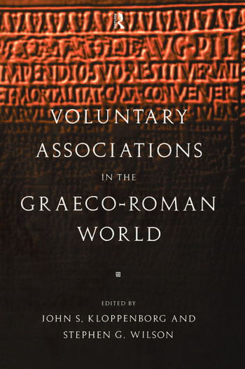 Voluntary Associations in the Graeco-Roman World book cover