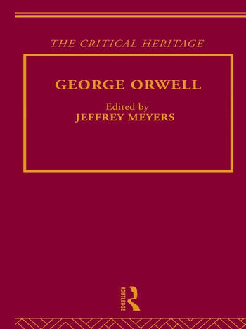 George Orwell book cover