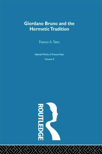 Giordano Bruno & Hermetic Trad book cover