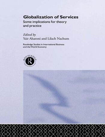 Globalization of Services Some Implications for Theory and Practice book cover