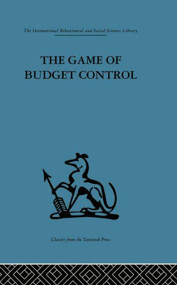 The Game of Budget Control book cover