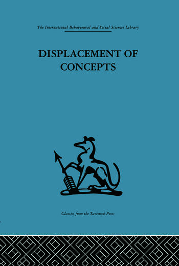 Displacement of Concepts book cover