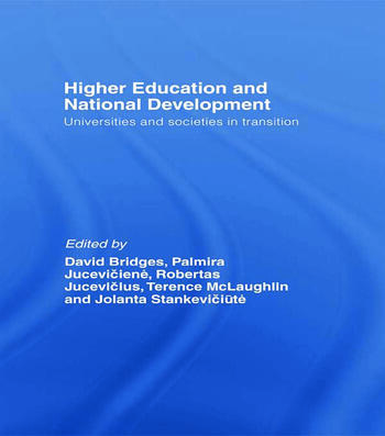 Higher Education and National Development Universities and Societies in Transition book cover