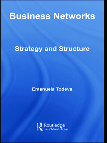Business Networks Strategy and Structure book cover