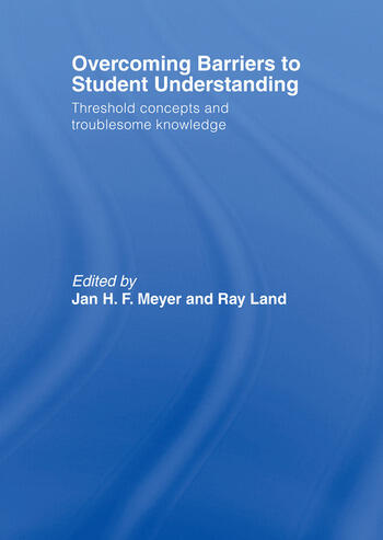 Overcoming Barriers to Student Understanding Threshold Concepts and Troublesome Knowledge book cover