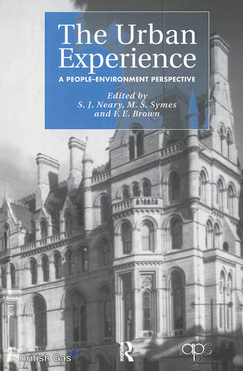 The Urban Experience A People-Environment Perspective book cover