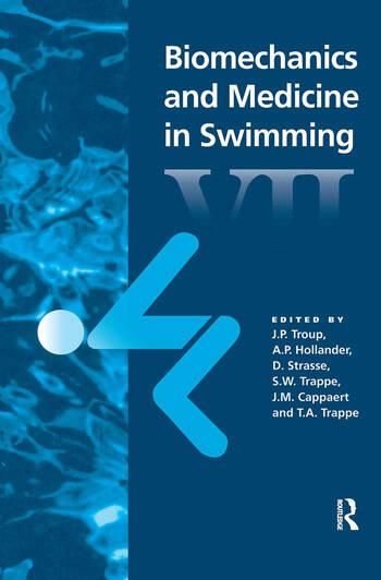 Biomechanics and Medicine in Swimming VII book cover