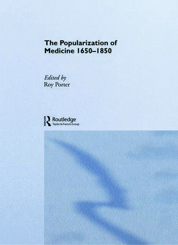The Popularization of Medicine book cover