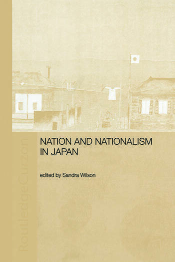 Nation and Nationalism in Japan book cover