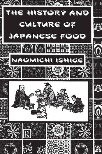History Of Japanese Food book cover