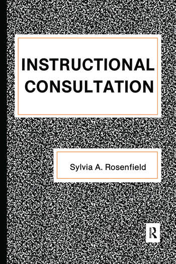 Instructional Consultation book cover