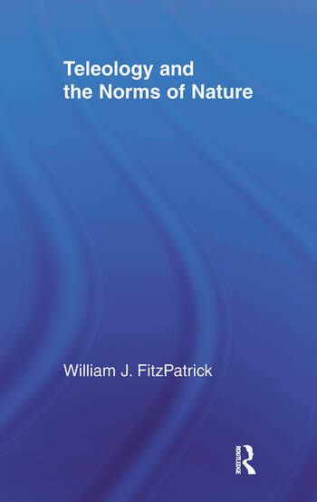 Teleology and the Norms of Nature book cover