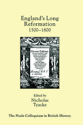 England's Long Reformation 1500 - 1800 book cover