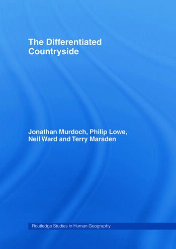 The Differentiated Countryside book cover
