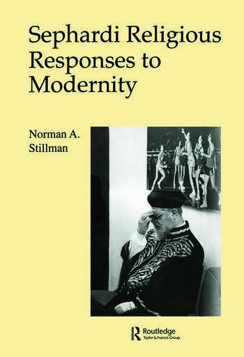 Sephardi Religious Responses/M book cover