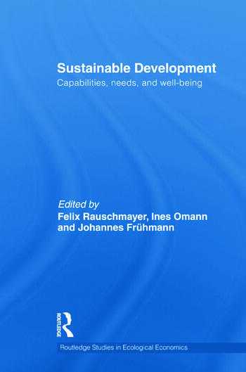 Sustainable Development Capabilities, Needs, and Well-being book cover