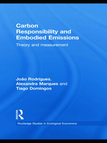 Carbon Responsibility and Embodied Emissions Theory and Measurement book cover