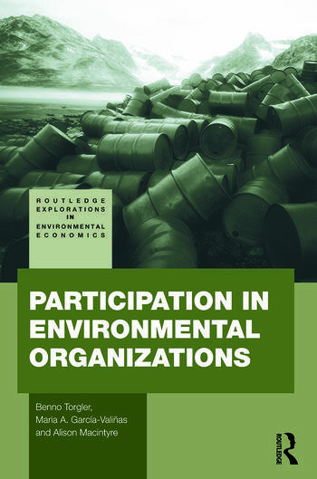 Participation in Environmental Organizations book cover