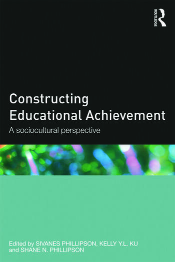 Constructing Educational Achievement A sociocultural perspective book cover