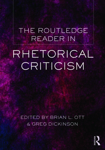The Routledge Reader in Rhetorical Criticism book cover
