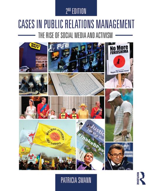 Cases in Public Relations Management The Rise of Social Media and Activism book cover