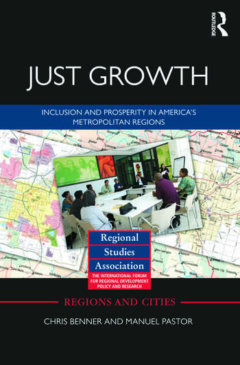Just Growth Inclusion and Prosperity in America's Metropolitan Regions book cover