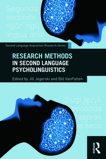 Research Methods in Second Language Psycholinguistics book cover