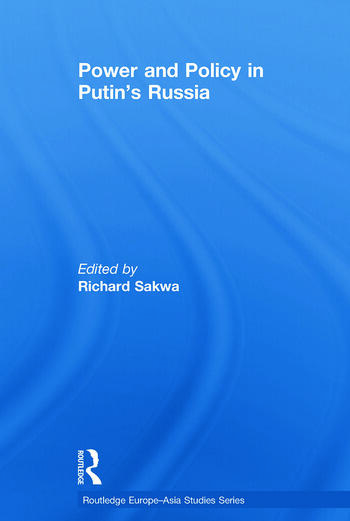 Power and Policy in Putin's Russia book cover