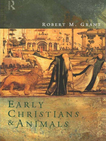 Early Christians and Animals book cover